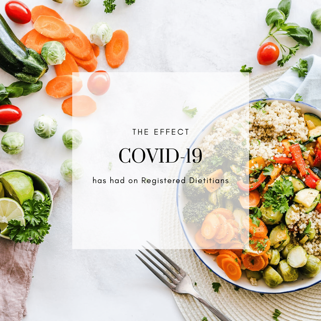 For Brands: How COVID-19 has Affected Dietitians