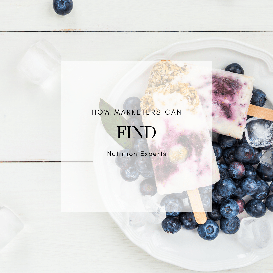 FOR BRANDS: 6 Ways to Find Dietitians When You're Not A Dietitian Yourself