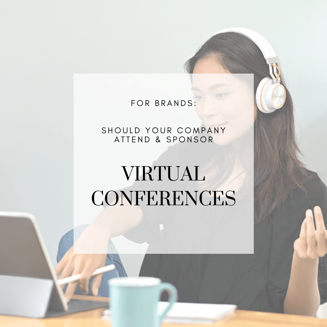 Should Your Company Attend & Sponsor Virtual Conferences?  + A Few Other Ways to Reach RDs This Year
