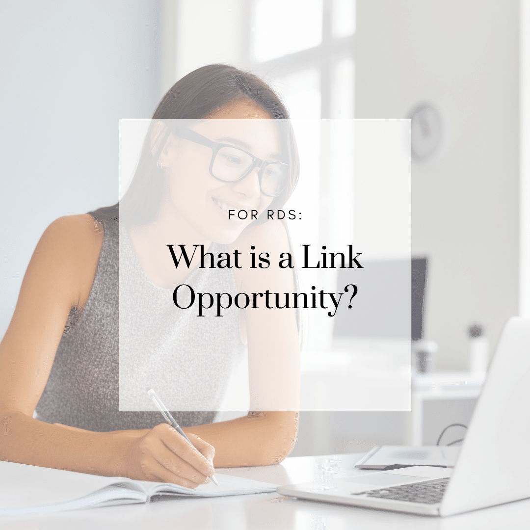 What is a Link Opportunity?