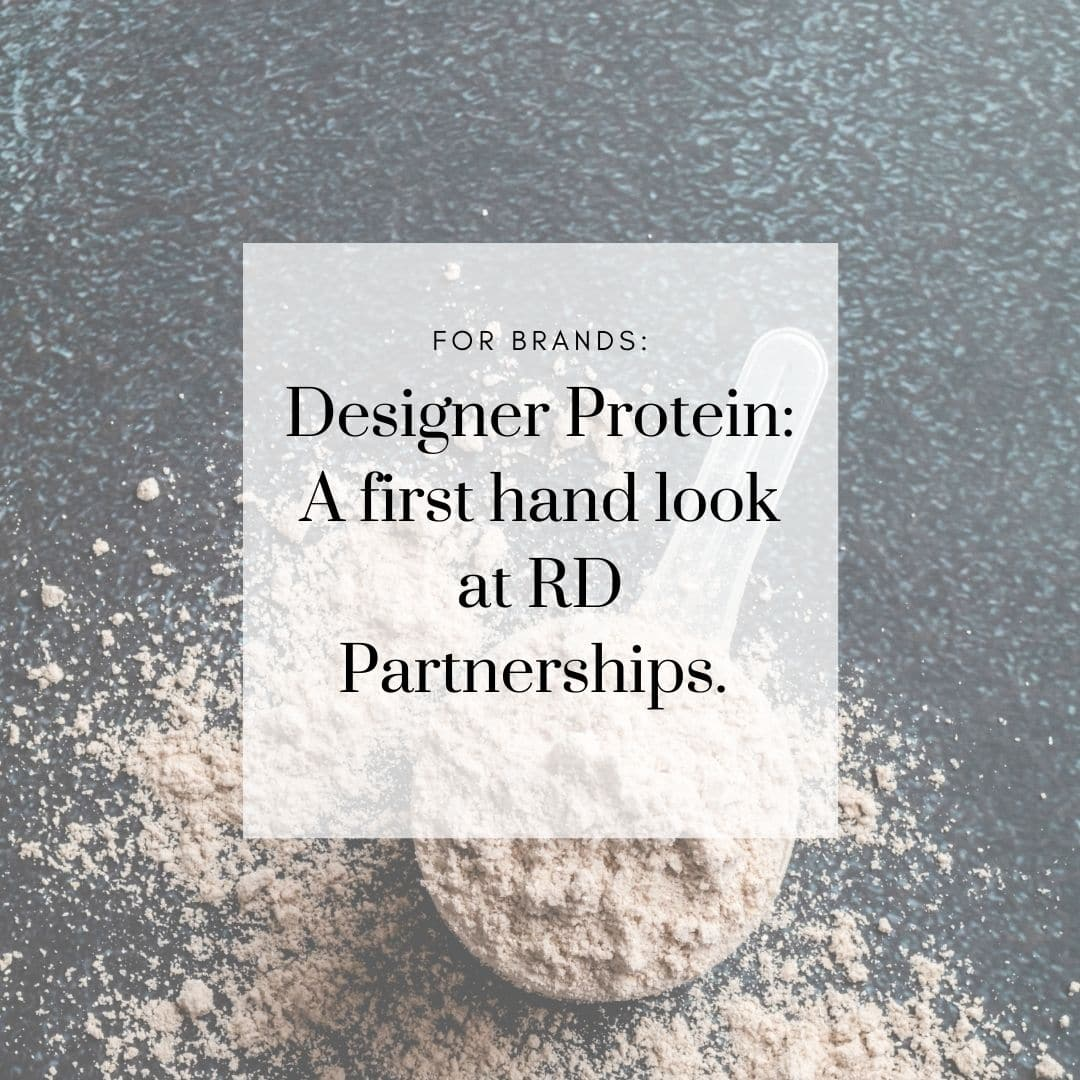 Designer Protein: A first hand look at RD Partnerships